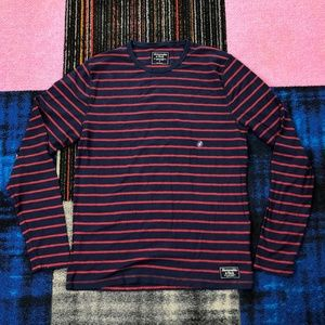 Abercrombie & Fitch Small Striped Long Sleeves